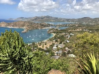 A view of Nelson's Dockyard in Antigua