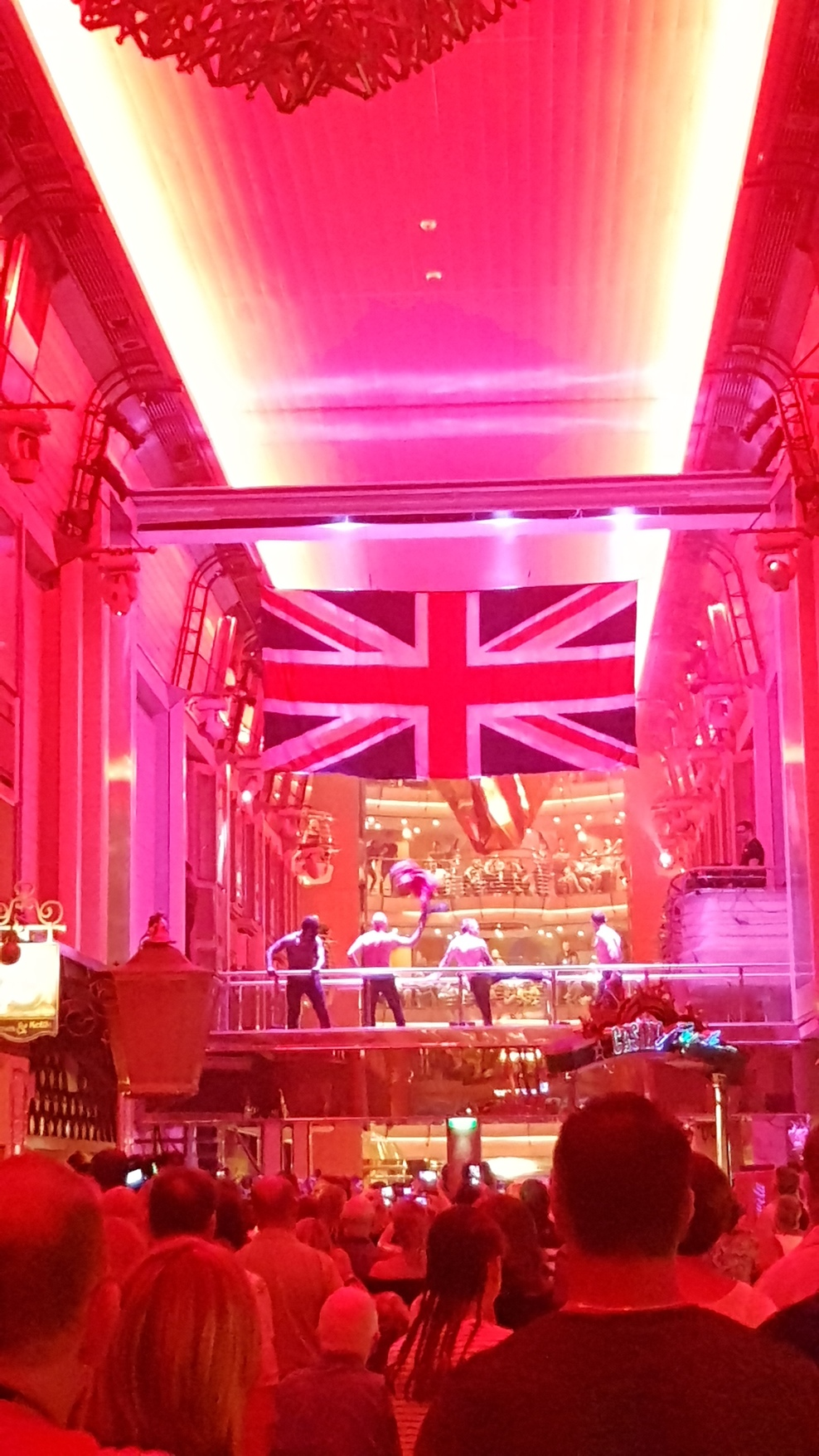 Rule Britannia night