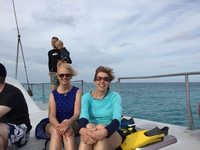 Catamaran tour in Aruba