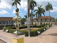 City square in Trinidad