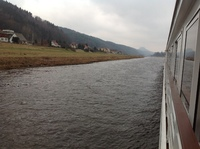Cruising between Dresden and Meissen.