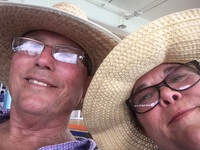 Check-in out the straw hats in Belize