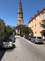View from carriage ride in Charleston, SC.
