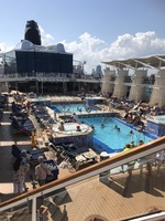 The ships pool area