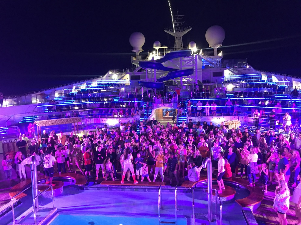 Mega Deck Party