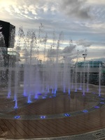 The fountains on the Royal.