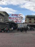 Pike's Market, Seattle, Wa.  Final port of cruise.