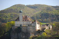 One of several castles along the Wachau Valley