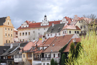 A scene from Cesky Krumlov, Czech Republic
