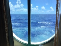 View at sea.
