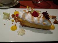 Key Lime Pie after our private cooking class.