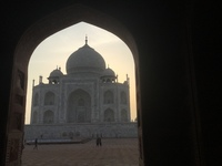 Taj Mahal beautiful