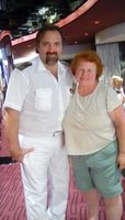 Of over 60 cruises this is the only one where the Captain was very friendly