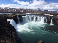 Godafoss Waterfalls in Akureryi