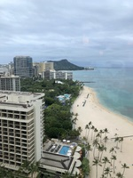View of Diamond Head from Hilton