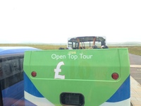 Kirkwall: The second T11 double decker exposing poor tourists to the cold w