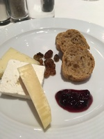 typical cheese platter