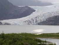 Mendenhall Glacier out of Ketchikan.  Great visitor center and trails.