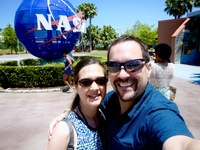 Great day at Kennedy Space Center