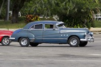 Old American made cars still in use in Cuba. Most have Russian drive trains