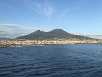 Naples a view from the ship