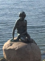 Little Mermaid Copenhagen Norway