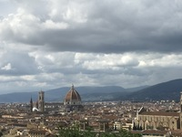 Magnificent view of Florence on our shore excursion