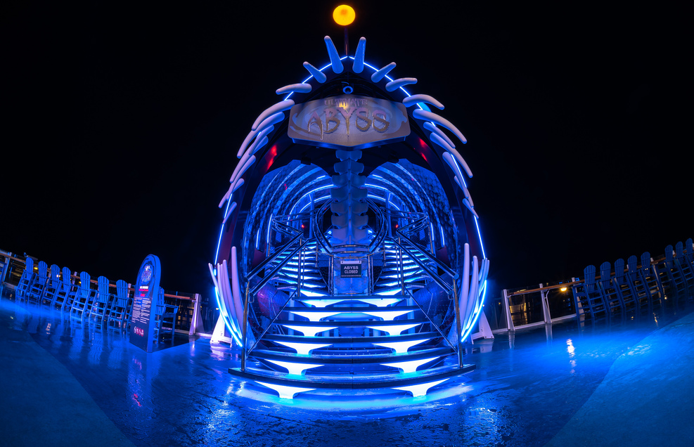 The Abyss on Harmony of the Seas