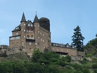 One of the many castles you will pass on the Rhine Getaway cruise.  An afte