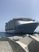 Harmony of the Seas Ship from St. Maarten