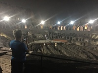 Night tour of the Colosseum