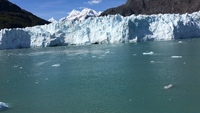 Beautiful College Fjord Glacier viewed from Star Princess deck June 2018