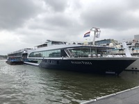 Here is the Avalon Vista docked in Amsterdam at our port of disembarkation.