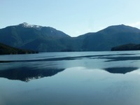 Cruising the inside passage. Beautiful and peaceful