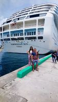 Recently off the ship getting ready to explore Nassau