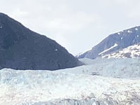 Mendenhall Glacier outside Juneau
