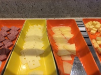 ( dry)cheese anyone? And no comment from Cunard. Sorry for them.