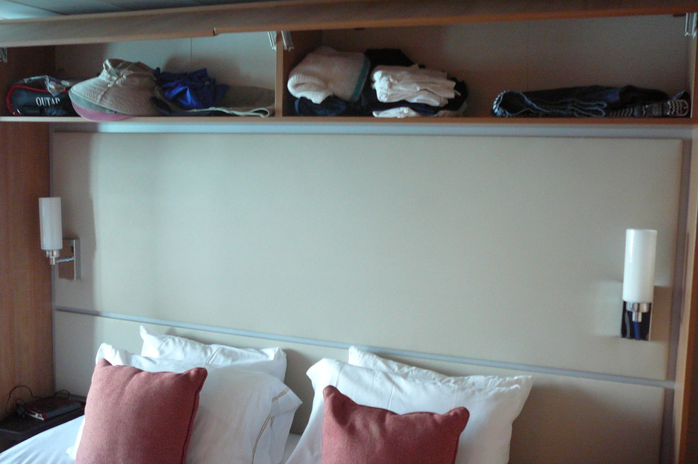 Storage over the bed