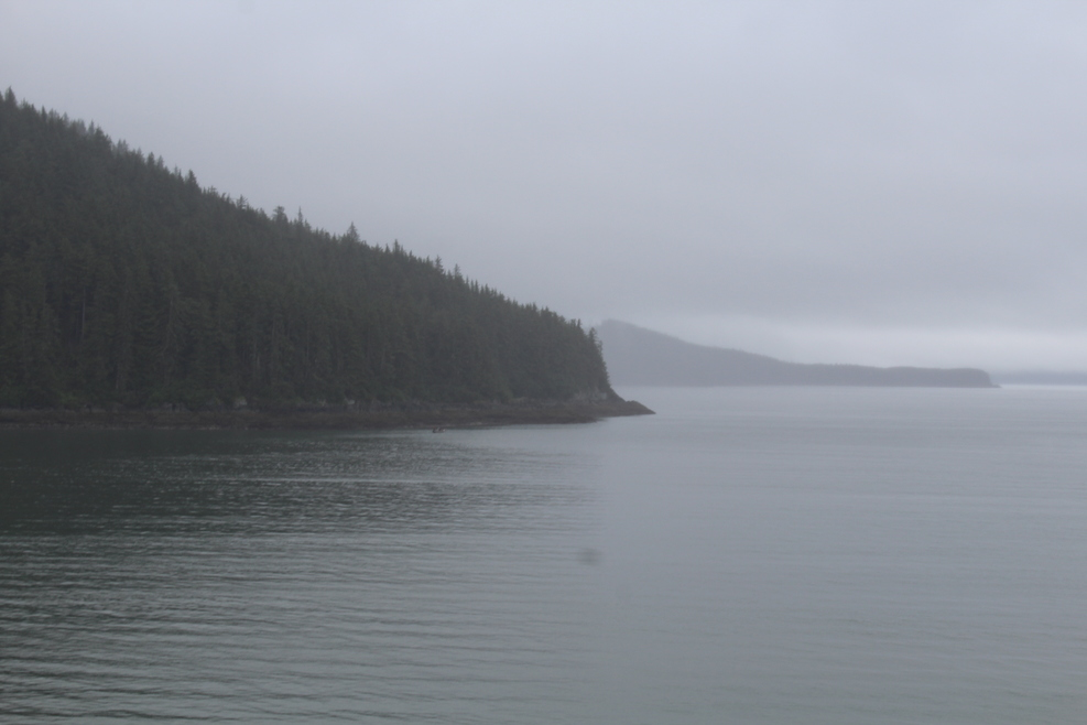 Inside passage scenery near Juneau