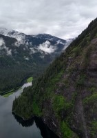 View from Island Wings float plane in Ketchikan - Misty Fjords
