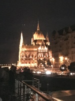 Palace in Budapest as we were passing by.