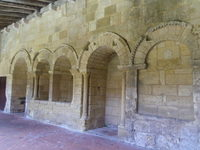 14th century cloister in St. Emilion