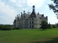 Blois Chateau in Loire valley