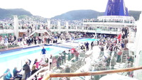 Main Pool Area during sail away