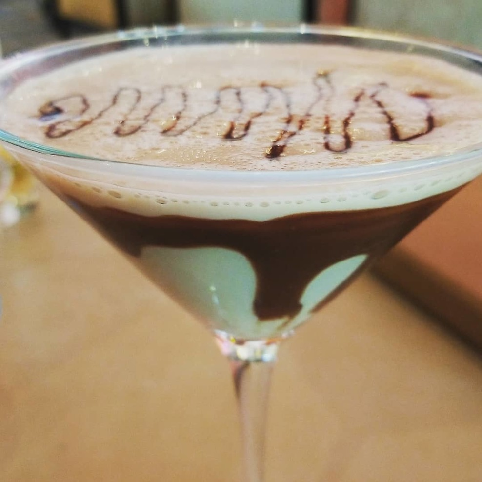 The elusive chocolate martini - finally found someone at the Atrium Bar to