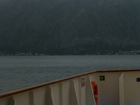 sail in to kotor