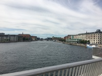 View of Copenhagen from bridge
