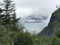 Hike around Mendenhall Glacier