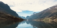 The Norwegian Fjords.