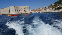 Dubrovnik from the tender